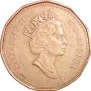 1 dollar Elizabeth II (3eme effigie) -  avers