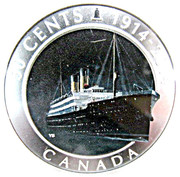 50 cents Empress of Ireland -  revers