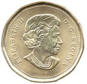 1 dollar Centenaire de la marine canadienne -  avers
