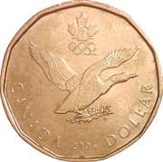 1 dollar Porte-bonheur 2006 -  revers