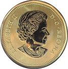 1 dollar Elizabeth II (L'oie des neiges) – avers