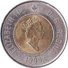 2 dollars Nunavut – avers