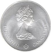 10 dollars Olympiades de Montréal (Vue sur Montréal) -  avers