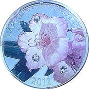 20 dollars Elizabeth II (Rosée de cristal et rhododendron) – revers