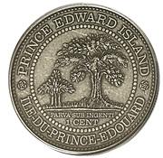 1 cent Elizabeth II (Île-du-Prince-Édouard) – revers