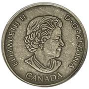 1 Cent - Elizabeth II (New Brunswick) – avers