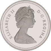 50 cents Elizabeth II (nickel) -  avers