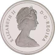 50 cents Elizabeth II (nickel) -  avers