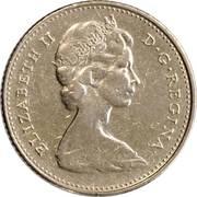 10 cents Elizabeth II (nickel, Ottawa) -  avers