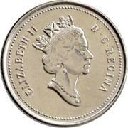10 cents La confédération (125 ans) -  avers