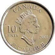 10 cents Année des bénévoles -  avers