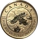 1 Dollar - Elizabeth II (Queen Victoria 200th Anniversary) – revers