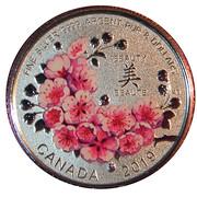 8 Dollars - Magnifiques fleurs de cerisier – revers