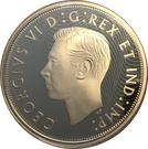 1 Dollar - Elizabeth II ( George VI 1935 Voyageur dollar)) – avers