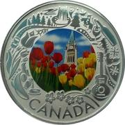 3 Dollars  Tulipes – revers