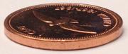 1 cent La confédération (100 ans) -  avers