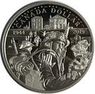 1 dollar (75ème anniversaire du Jour J) – revers