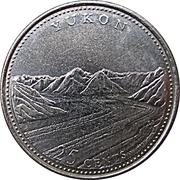 25 cents Yukon -  revers