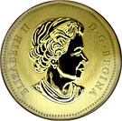 1 dollar Élizabeth II (La chevêche des terriers) – avers