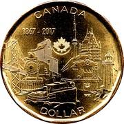 1 dollar Le lien d'une nation -  revers