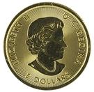 5 Dollars - Elizabeth II Polar Bear – avers