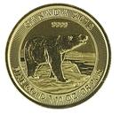 5 Dollars - Elizabeth II Polar Bear – revers