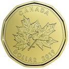 1 Dollar - Elizabeth II (Maple Leaf) – revers