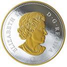 1 Dollar - Elizabeth II (The Voyageur Dollar) – avers