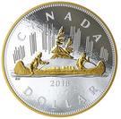1 Dollar - Elizabeth II (The Voyageur Dollar) – revers