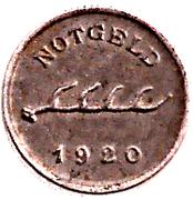 1 pfennig - Cannstatt – avers