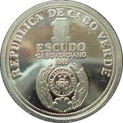 1 escudo Indépendance (argent) – avers