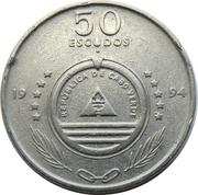 """50 escudos Voilier """"Senhor das Areias"""" -  avers"""