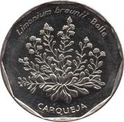20 escudos Fleurs carqueja -  revers