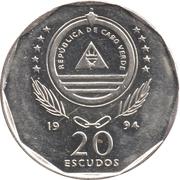 20 escudos Fou brun -  avers