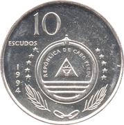 """10 escudos Bateau """"Carvalho"""" -  avers"""