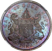 1 penny (Cap de Bonne-Espérance, essai) – avers