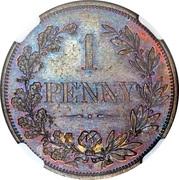 1 penny (Cap de Bonne-Espérance, essai) – revers