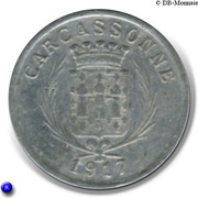 5 centimes - Union des Commerçants - Carcassonne [11] – avers