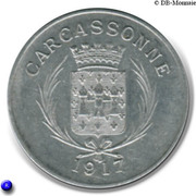 10 centimes - Union des Commerçants - Carcassonne [11] – avers