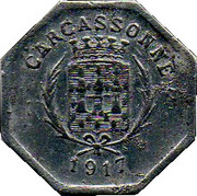 25 Centimes - Union des Commerçants - Carcassonne [11] – avers