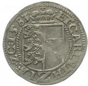 2 kreuzer Archiduc Charles II Francois d'Autriche (Klagenfurt) – revers