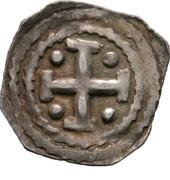 1 pfennig Berthold III. von Andechs-Meranien – revers