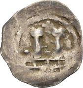 1 pfennig Ulrich II – avers