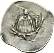 1 pfennig Bernhard von Spanheim -  avers