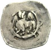 1 pfennig Bernhard von Spanheim -  revers