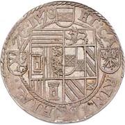 ½ thaler Archiduc Charles II Francois d'Autriche (Klagenfurt) – revers