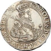1 thaler Archiduc Charles II Francois d'Autriche (Klagenfurt) – avers
