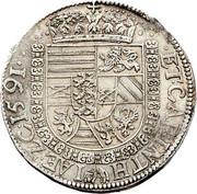 1 thaler Archiduc Charles II Francois d'Autriche (Klagenfurt) – revers