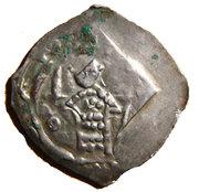 1 Pfennig - Duke Bernhard von Spanheim – avers