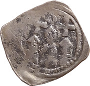 1 pfennig Berthold von Aquileia – avers